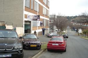 Outside Garage