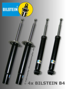 B4's standard suspension BMWs